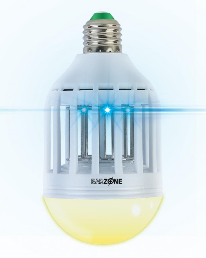 Compo Lâmpada Anti-Mosquitos 2 em 1-lampada